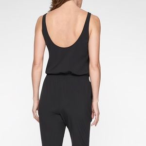 fd881e06bea Athleta Pants - Athleta Roaming Romper Black Size 8 - NWOT